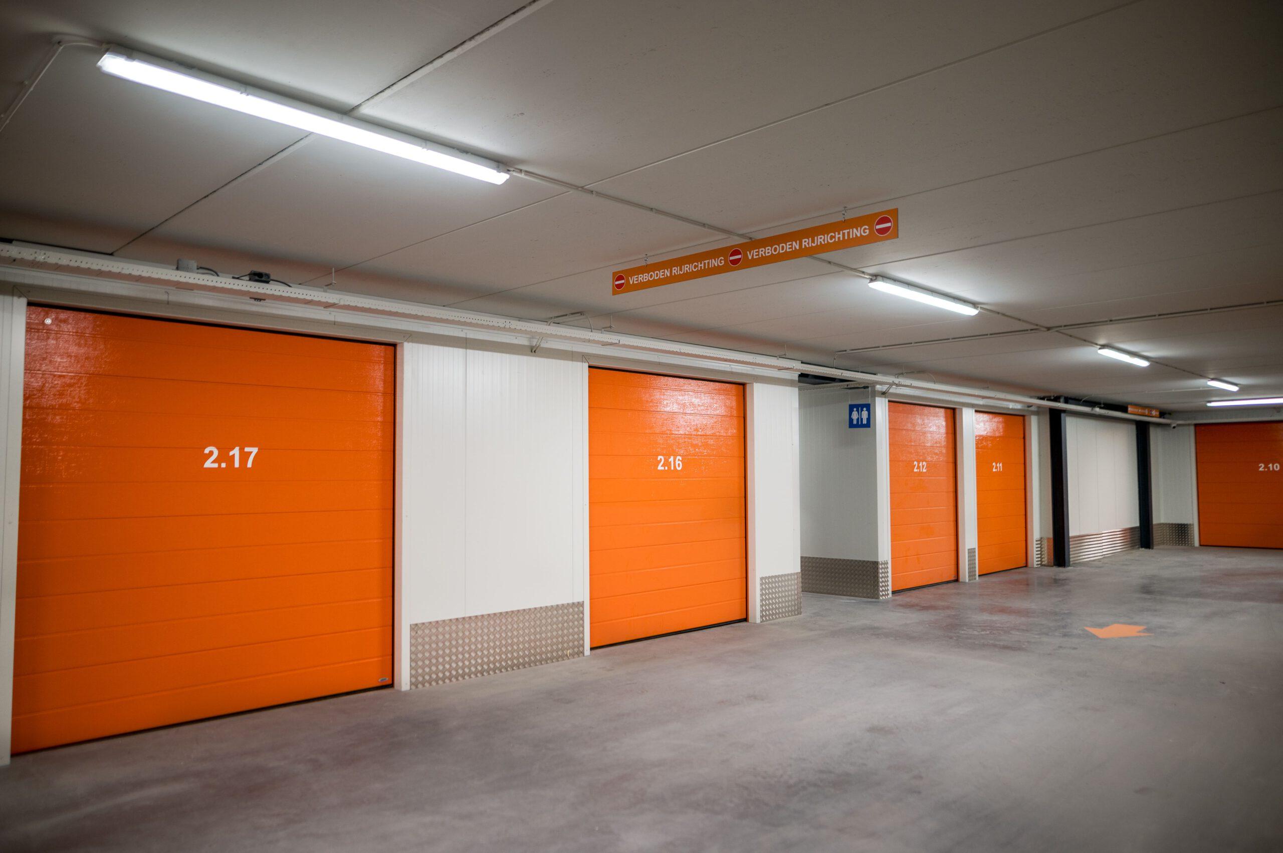 Garagebox faciliteiten