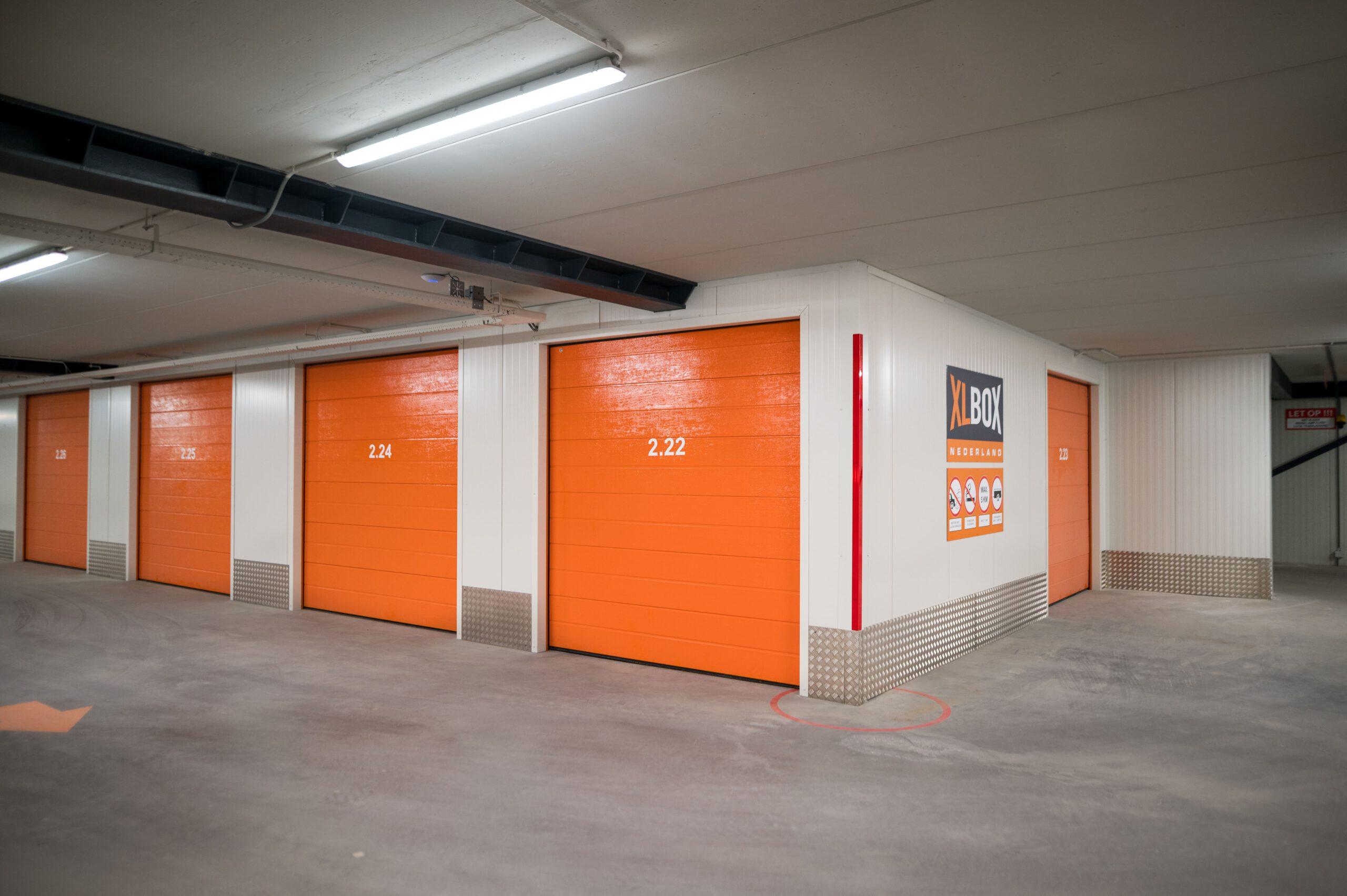 Duurzame garageboxen