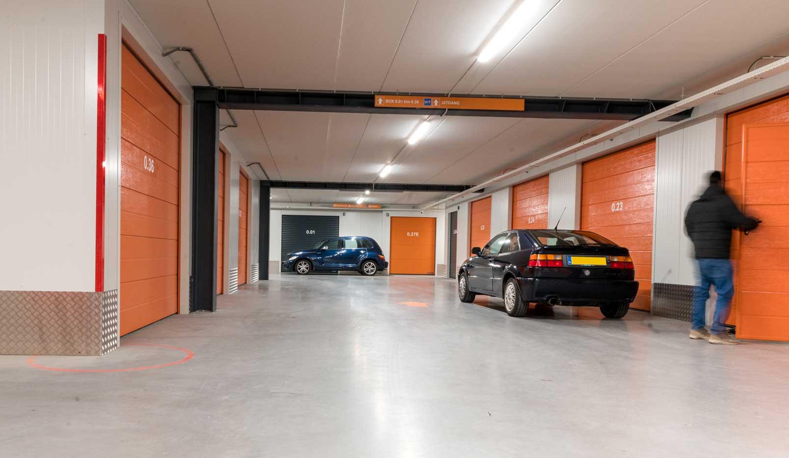 Beleggen in een garagebox